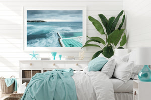 Bondi Beach Wall Art Beach styled interior