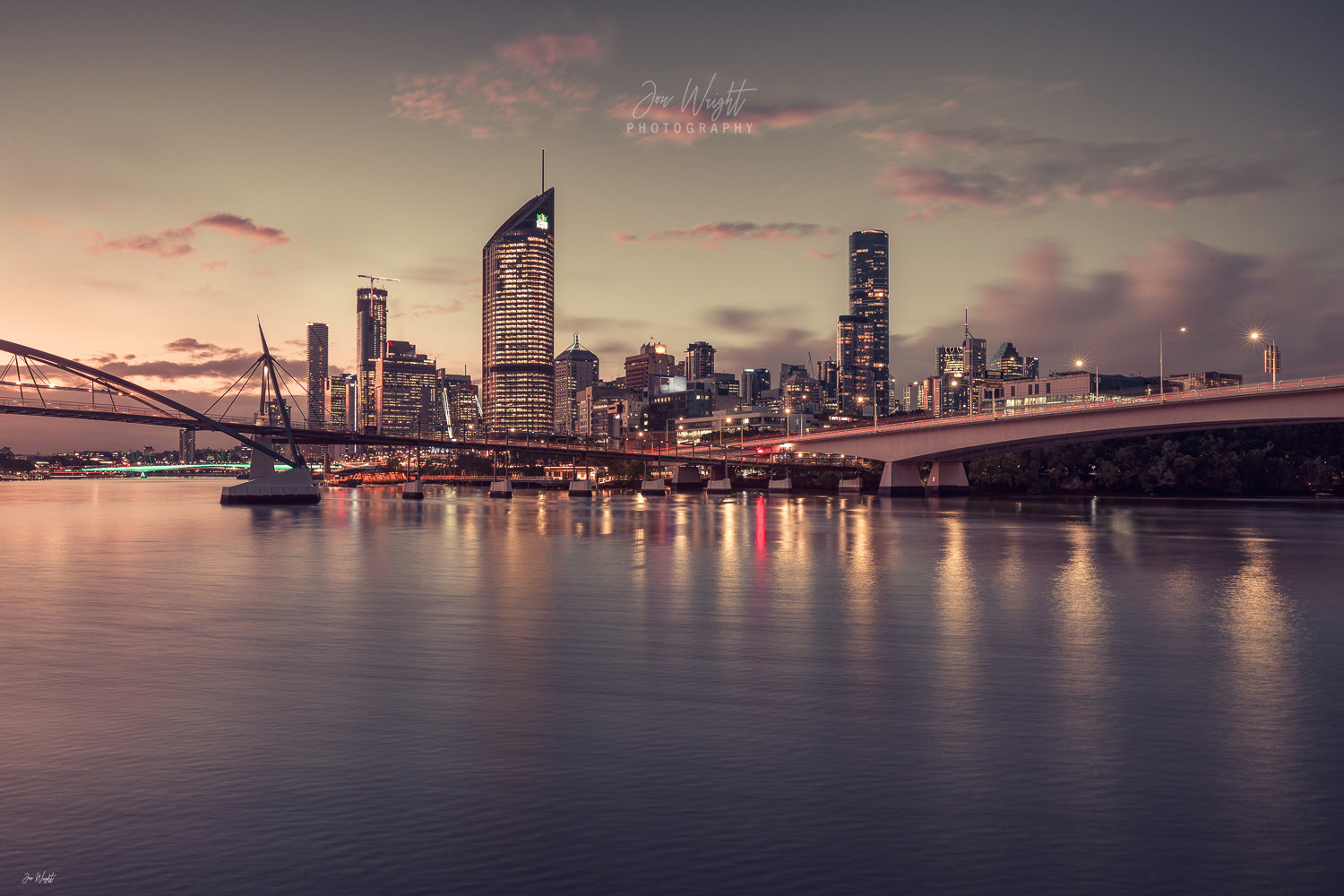 Brisbane City Photos Sunset