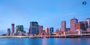 Brisbane City, QLD - Southbank blue