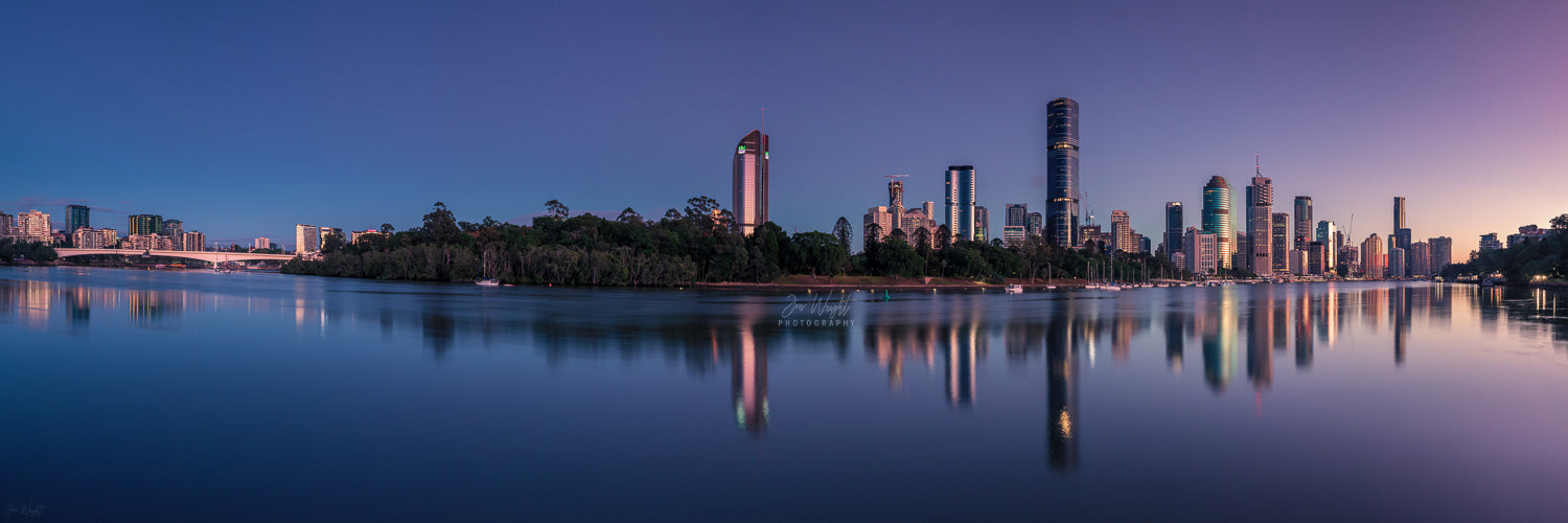 Brisbane City Panorama