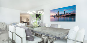 Brisbane City Panorama photography print