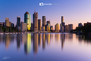 Brisbane City dawn - QLD, Australia