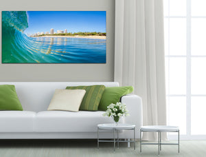 Ready to hang stretched canvas art
