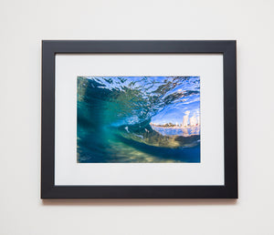 Classic black frame - Underwater photograph