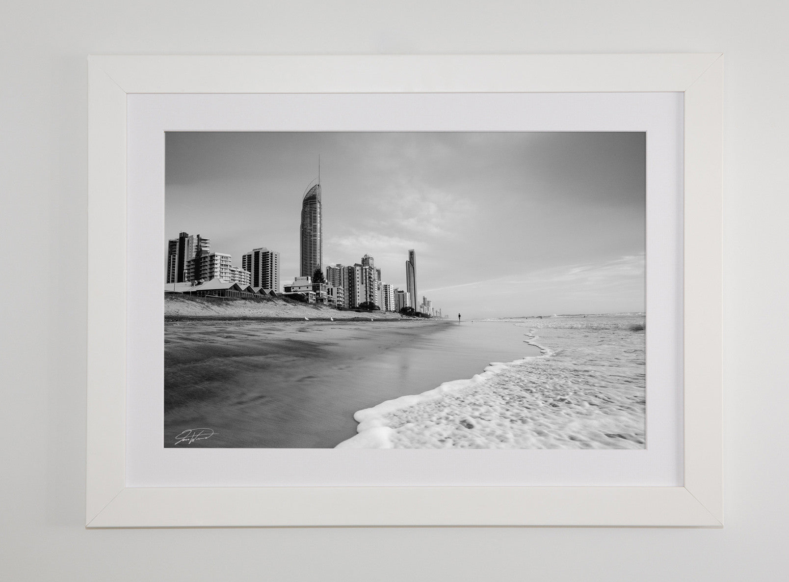 Surfers Paradise wall art black and white photography Gold Coast QLD ...