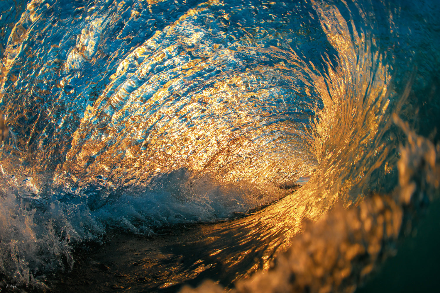 Wave Sunset Photography Gold Coast