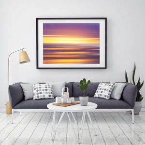 Endless Summer Black Frame Wall Art Beach Prints