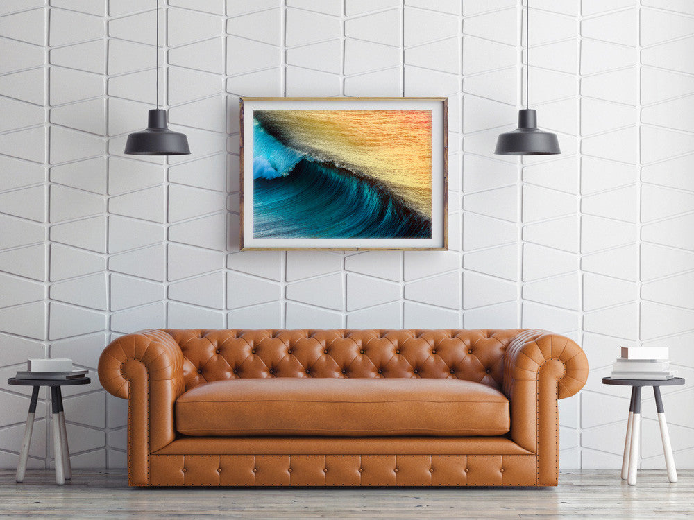 Snapper Rocks Gold Coast canvas and framed artwork - Jon Wright ...