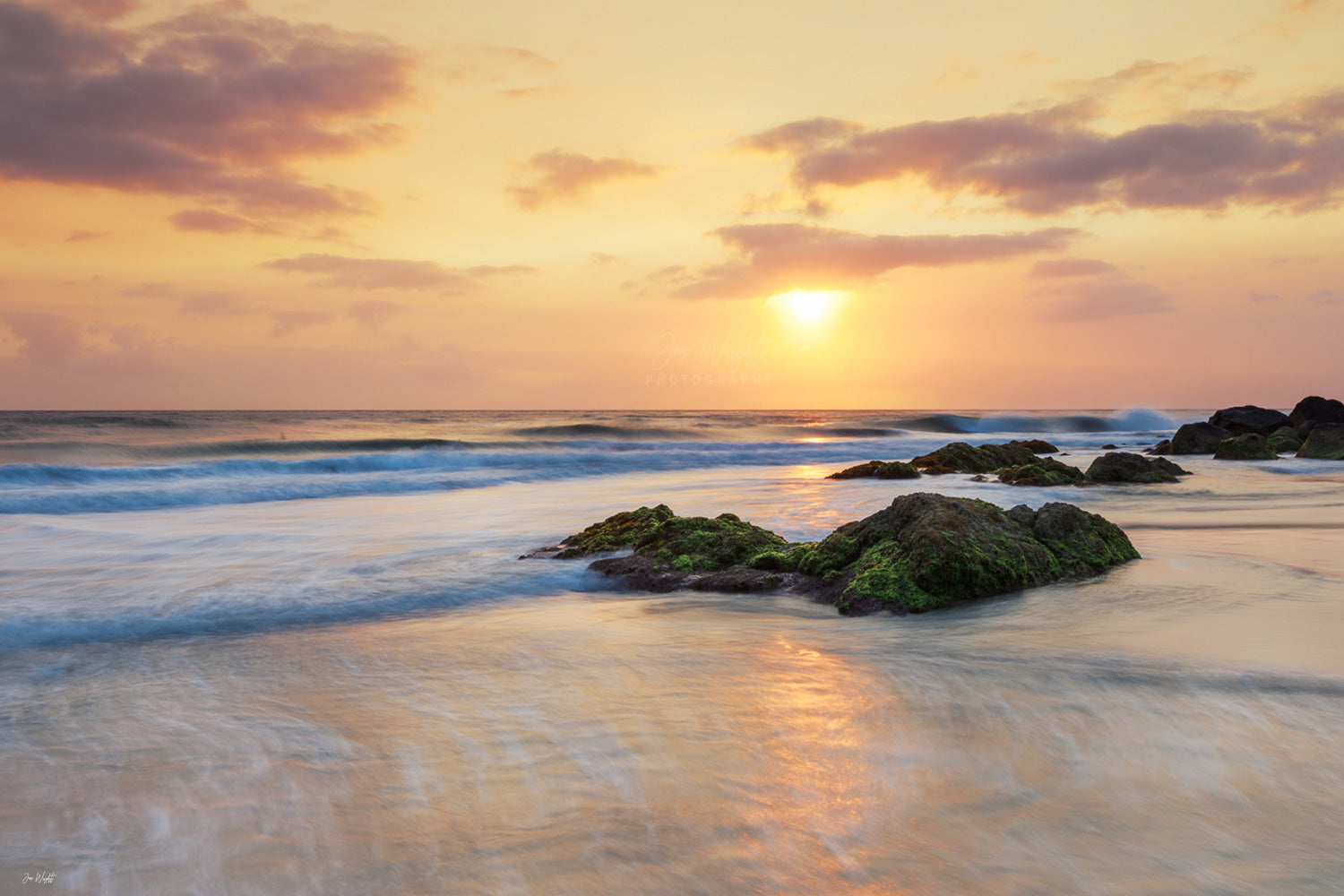 Froggies Beach Sunrise - Coolangatta, QLD - Australia