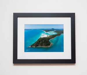 Classic black frame with white mat