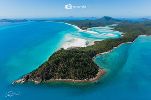 Whitehaven Beach #2 - The Whitsundays - Aerial