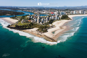 Coolangatta Aerial artwork
