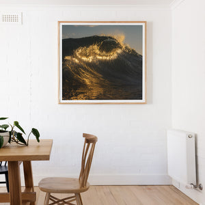 Golden Break Wall Art surf photography gold coast