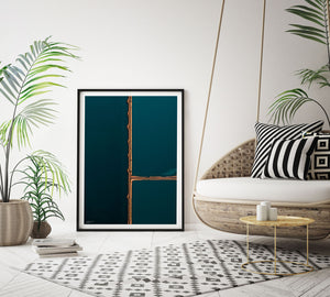 Graphic - Emerald Print | Abstract Aerial Prints