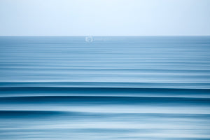Blue Abstract Print Kirra Beach Gold Coast