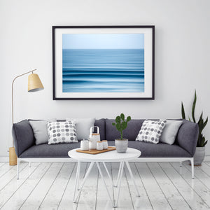 Invigorate Beach Print Gold Coast Wall Art and decor