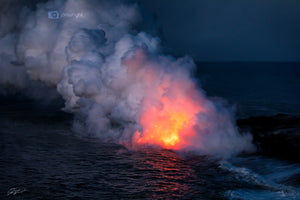 Kalapana Lava Flow- The Big Island, Hawaii
