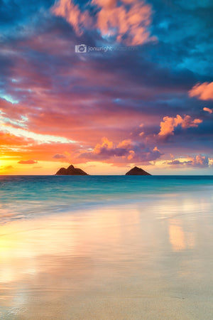 Lanikai Beach Sunrise - Hawaii - Oahu