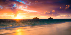 Lanikai Beach Sunrise  #2 - Oahu, Hawaii