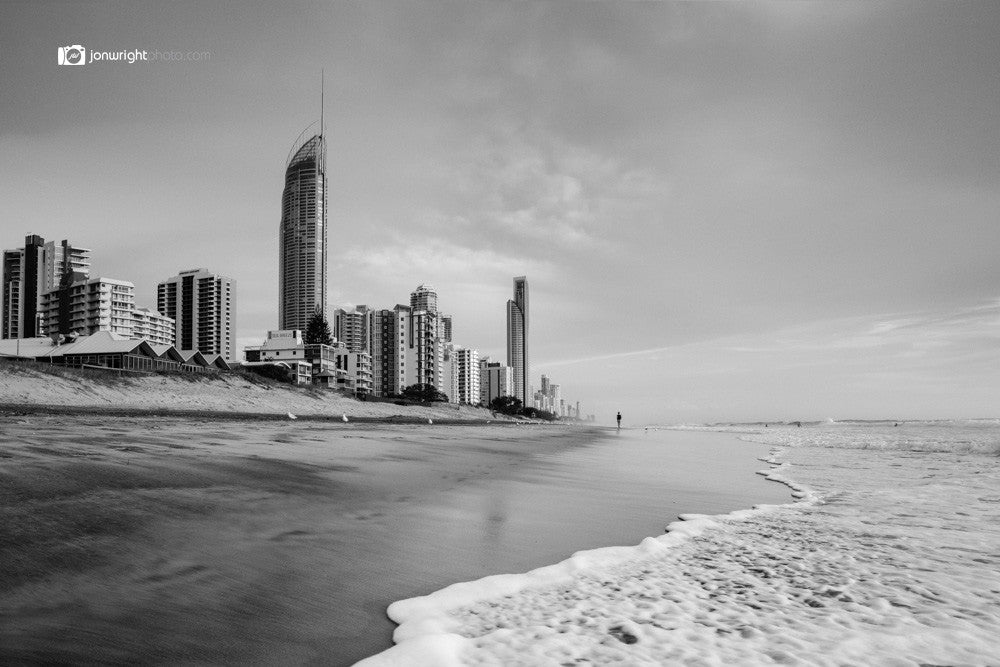Surfers Paradise walk alone