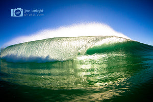 Emerald city - Early morning waves.
