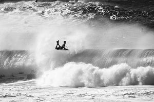 Pipeline reverse - Amaury Lavernhe bashing an air reverse out at pipe. Downloadable wallpaper for your desktop
