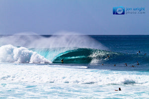 Mitch Rawlins - Pipeline barrel - Hawaii. Downloadable wallpaper for your desktop