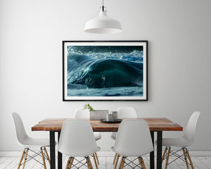 Mini Slab Frame in Black - Wave Photography
