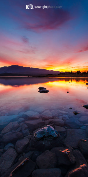 Lake Tekapo sunrise X pano - New Zealand