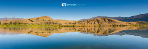 Lake Hayes autumn pano - New Zealand