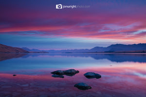 Lake Tekapo Dawn Autumn - New Zealand