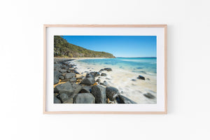 Tea Tree Bay Noosa National Park QLD Oak Frame