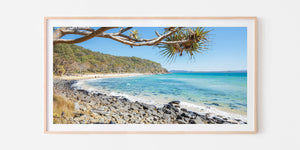 Tea Tree Bay Panorama - Noosa, QLD - Australia