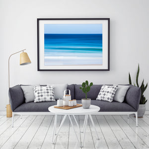 Revitalize abstract beach print gold coast