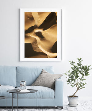 Sands Of Time | Abstract Aerial Prints
