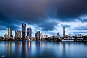 Surfers Paradise blue hour - Gold Coast, QLD Australia