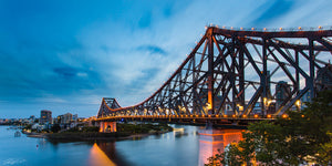 Story bridge blue hour - Brisbane, QLD Australia