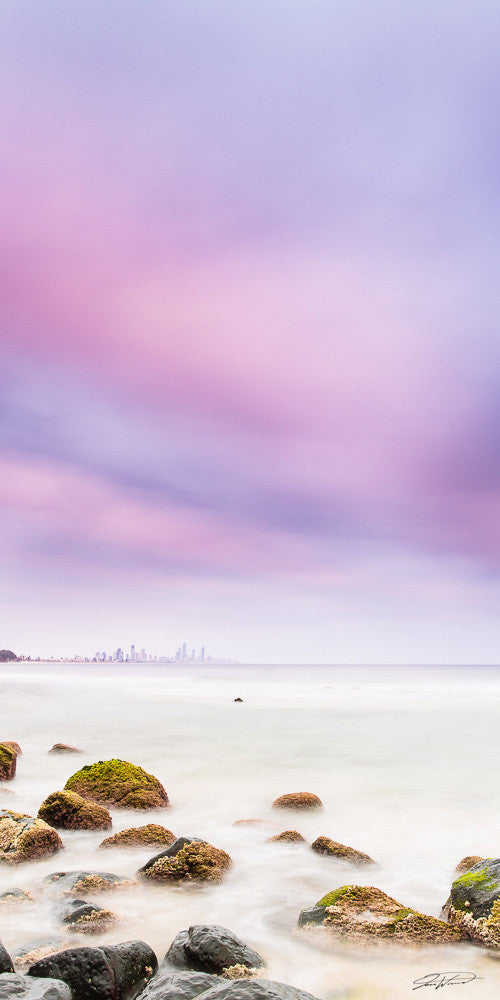 Pastels of Burleigh heads