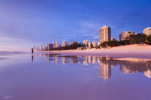 Reflections by the sea - Mainbeach Surfers Paradise