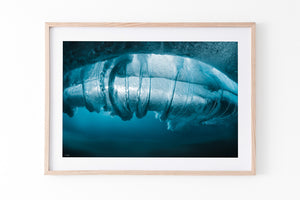 Coastal Beach Print underwater photography