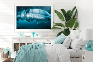 Coastal wall art print