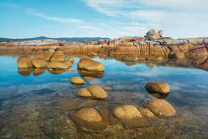 Stepping Stones - Binalong Bay Tasmania