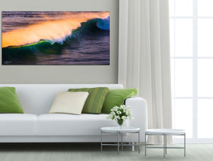 Canvas surf art Gold Coast