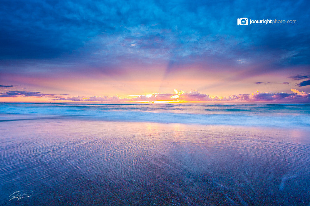 Sunrise in Surfers Paradise - Gold Coast Australia