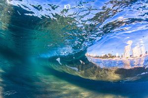 Morning fisheye - Gold Coast, Australia