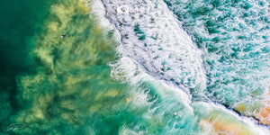 Turbulence -  Aerial Surf art Gold Coast, QLD Australia