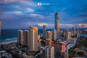 The Night City Grows - Surfers Paradise QLD, Australia
