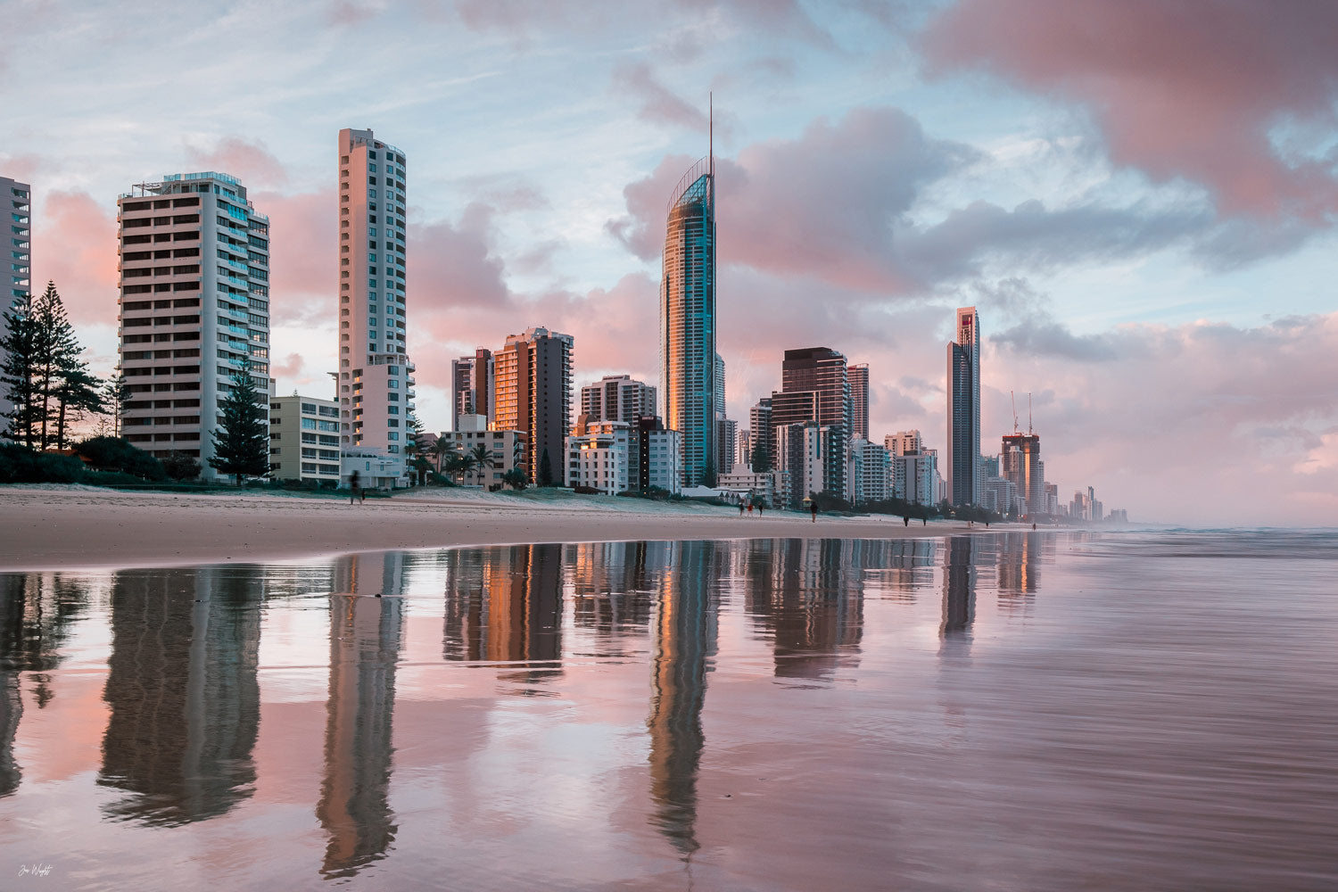 Surfers Paradise Gold Coast Print