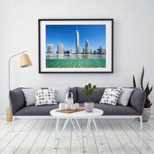 Gold Coast Print - Surfers Paradise Waterscape