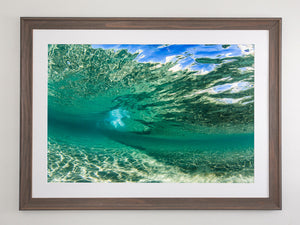 Underwater ripple - Gold Coast, Australia